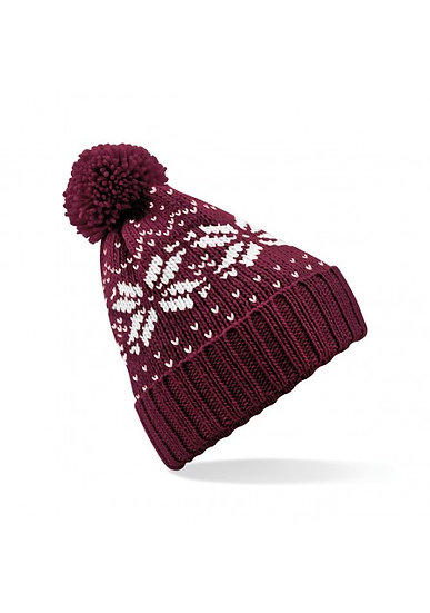 Flying Fox Fair Isle Bobble Hat