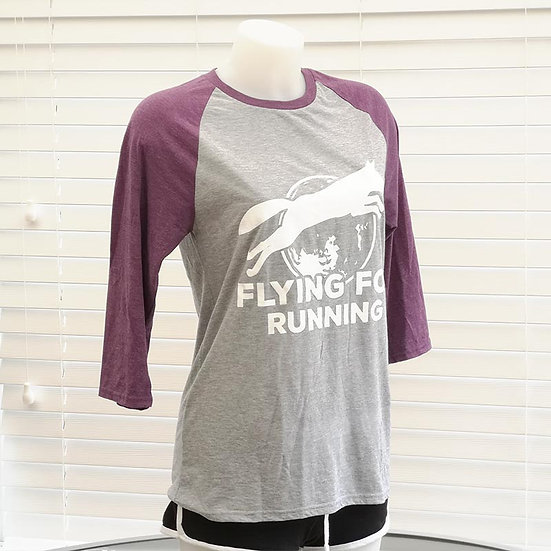 Flying Fox Tri Blend Baseball 3/4 T