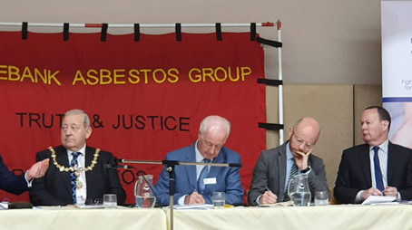 Digby Brown support Clydebank Asbestos Group AGM