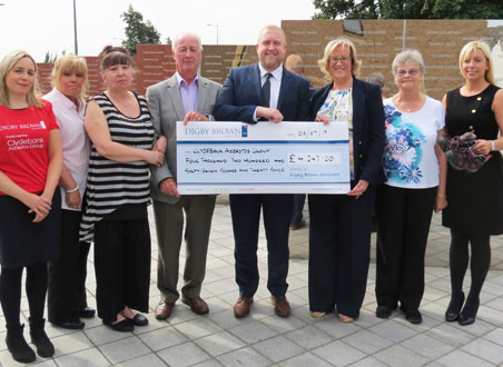 Walk raised thousands for Clydebank Asbestos Group (CAG)