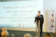 Fraser Simpson, Partner, Digby Brown - addressing attendees