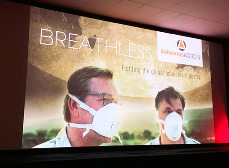 Breathless screening shows asbestos continues to put lives in danger