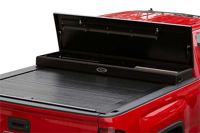 Toolbox bed cover
