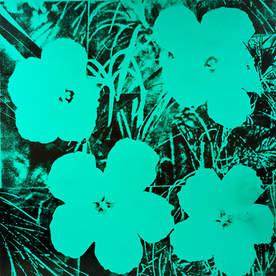 Andy Warhol  Ten-Foot Flowers