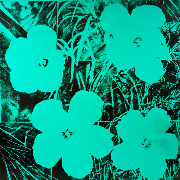 Andy Warhol  Ten-Foot Flowers