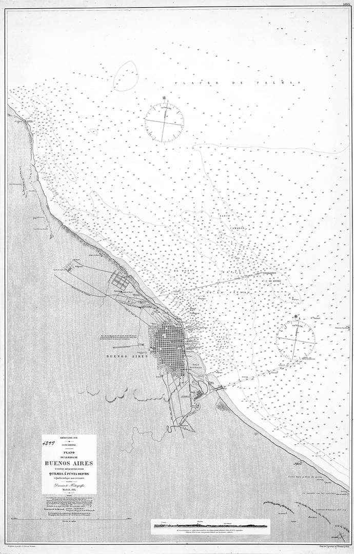 Mapa Bs As Costa 1887