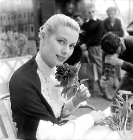 Grace Kelly in Cannes May 1955