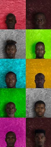Hombres de color