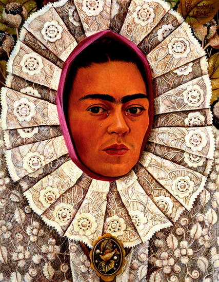 1948 Frida Kahlo Autoportrait, Self-Port