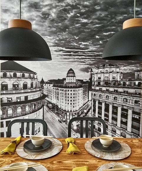 Fotografía de Buenos Aires, Diagonal Norte, Arte, Decoracion, Cuadros, Vinilo decorativo art, wallart