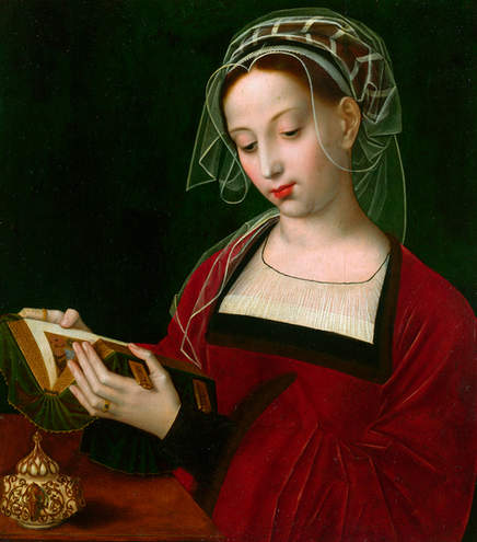 Ambrosius Benson - The Magdalen Reading