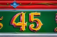 La 45 / Fileteado Porteño