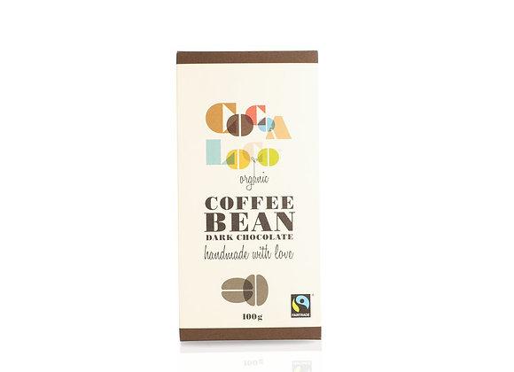 Organic Coffee Bean Bar 100g