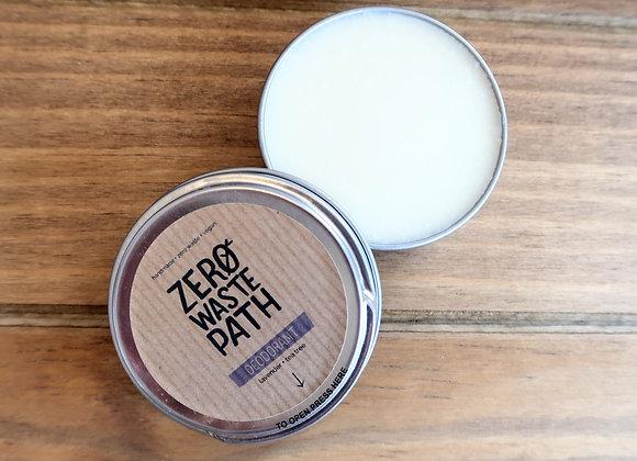 Lavender and Tea Tree Deodorant