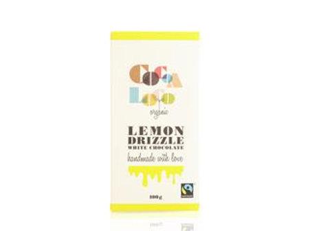 Organic White Lemon Drizzle Chocolate