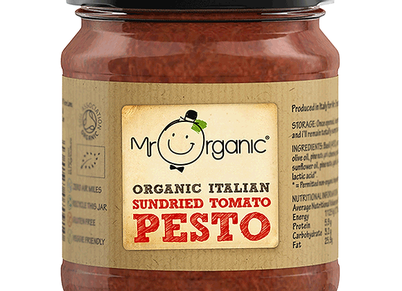 Mr organic Italian Sundried Tomato Pesto 130g