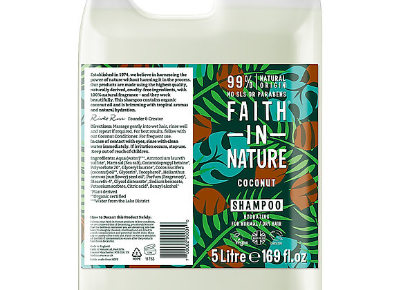 Coconut Shampoo - Faith in Nature 500ml