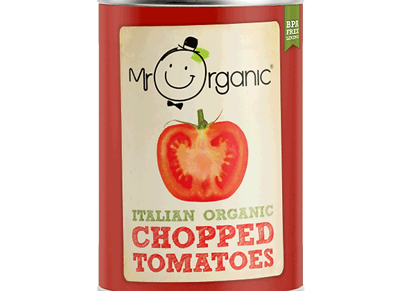 Mr Organic Chopped Tomatoes