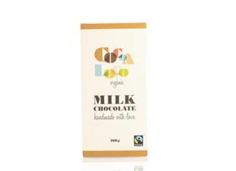 Organic Cocoa Loco Milk Choco Bar