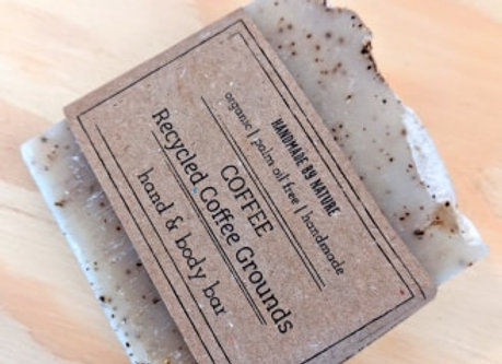 Recycled Coffee Soap Bar