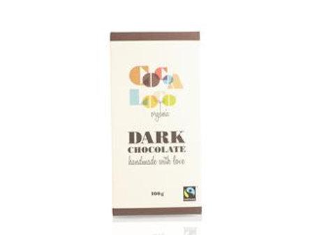 73% Dark Organic Chocolate Bar by Cocoa Loco