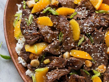 Healthy Orange Beef Stir-Fry