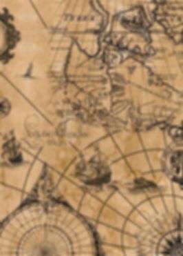 carte maritime et boussole