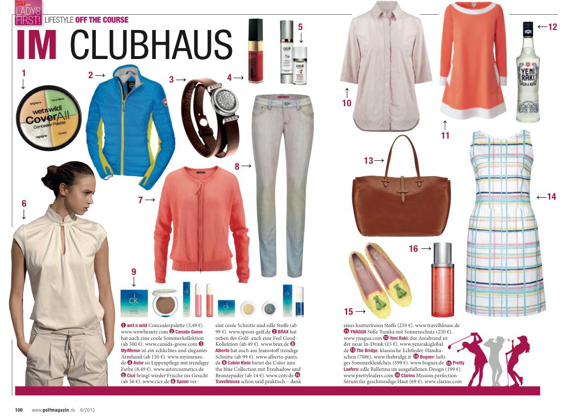 Golf Magazin 2015