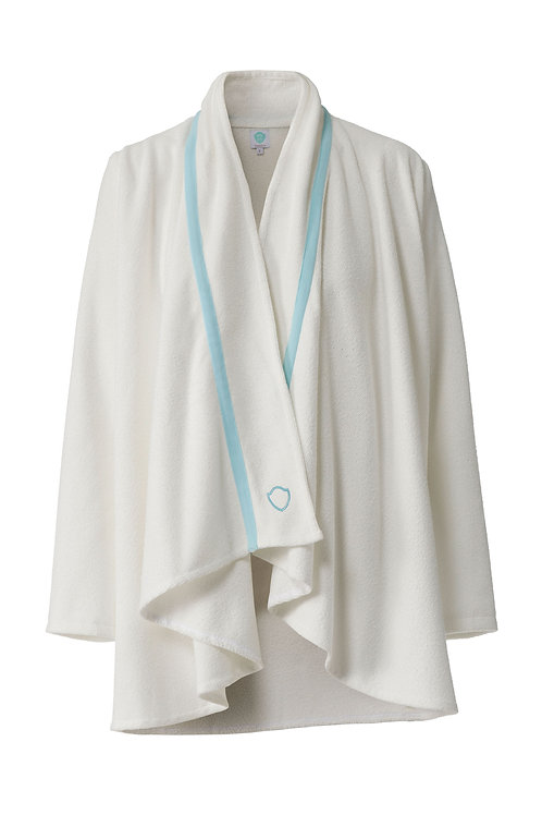 SCARF CARDIGAN mint