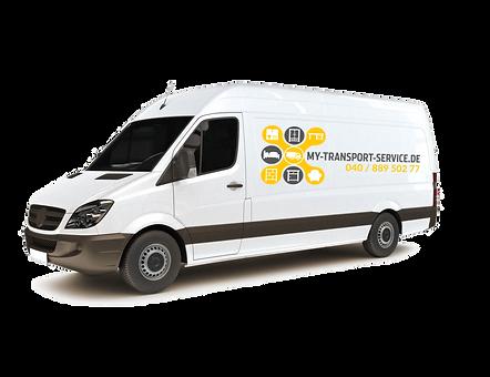 Bild: Fahrzeug My Transport Service - Hamburger Umzugsunternehmen - Inhaber Daniel Wartmann