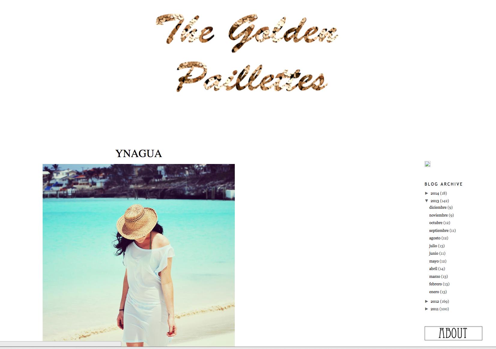 The Golden Paillettes