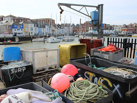 Fishing equipment in Weymouth