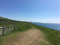 The South West Coast Path in Dorset