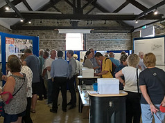 Community engagement event for multiple projects in West Bay