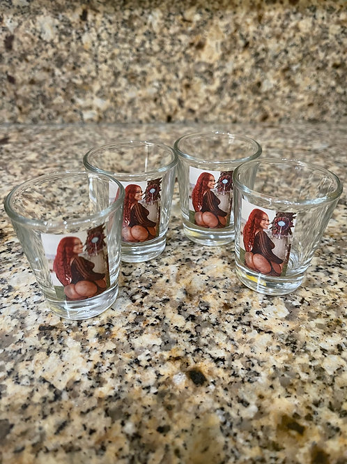 Cherokee Shot Glass