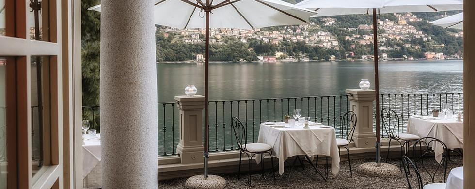 ristorante lago di Como