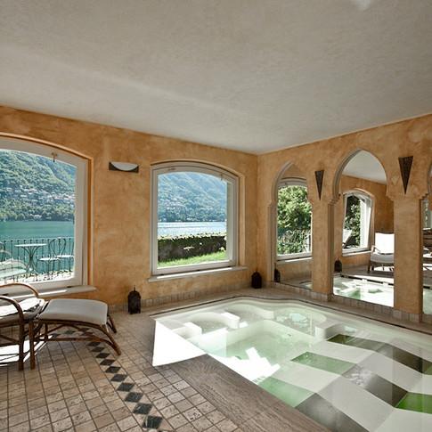Angolo benessere sul Lago di Como