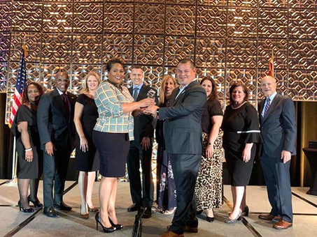 School Board Chairwoman Honored