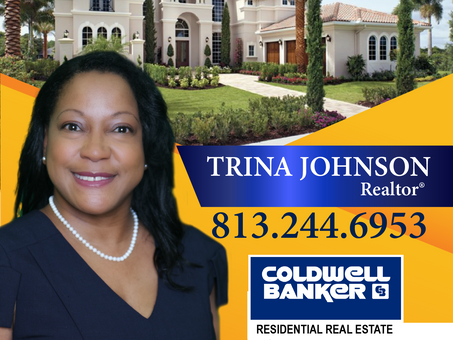 Tampa Bay's Favorite Sales Agent,  Trina Johnson. Joins Coldwell
