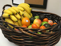 Our basic fruit basket as part of our fresh fruit delivery services.