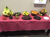 Our gourmet fruit basket as part of our fresh fruit delivery services.