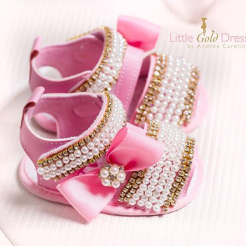 Sandalias de perla