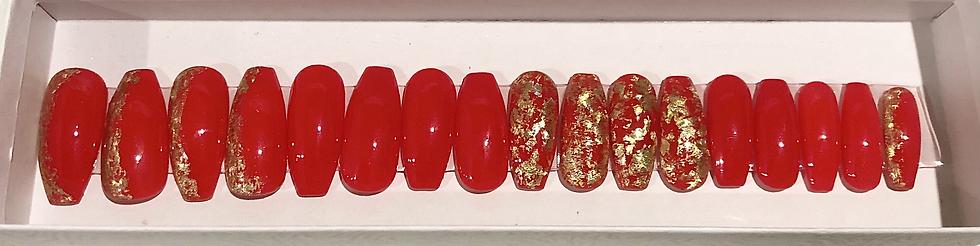 Ferrari Red Luxury Nails