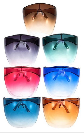 Colored Face Shields