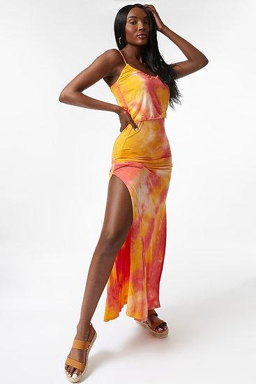SunShine Split Maxi Dress