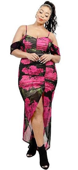 Rose Maxi Dress Plus