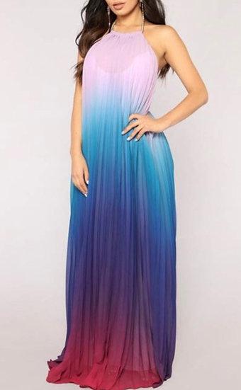 Ombre Flow Dress
