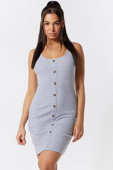 Grey Buttercup Dress