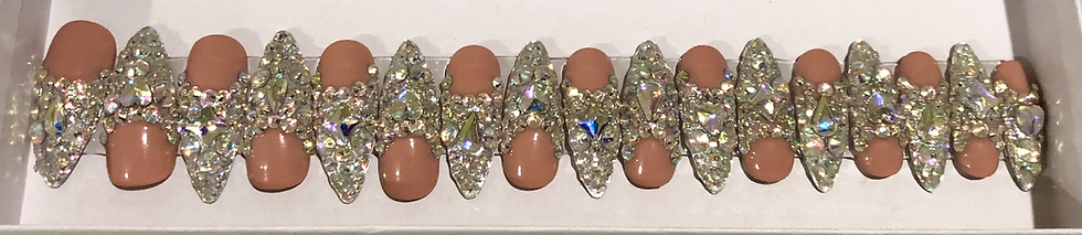 Iced Out Luxury Nails
