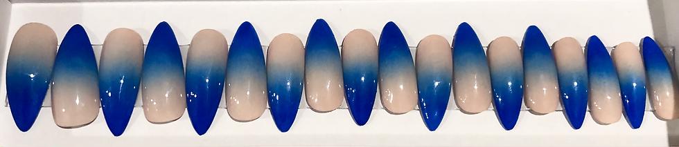 Ocean Waves Luxury Nails
